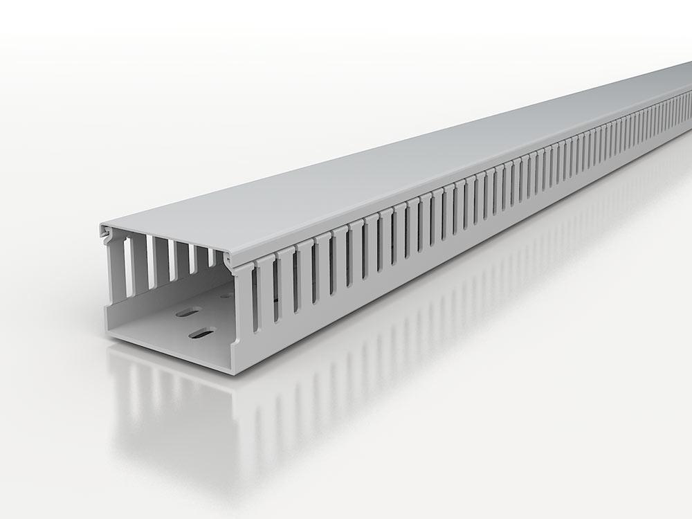 Canali per quadri elettrici senza alogeni 5mm PC/ABS