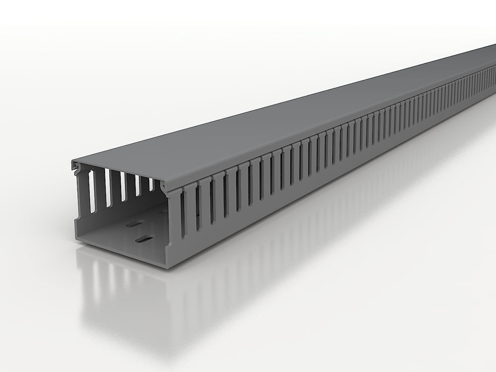 Canali per quadri elettrici senza alogeni 5mm Noryl