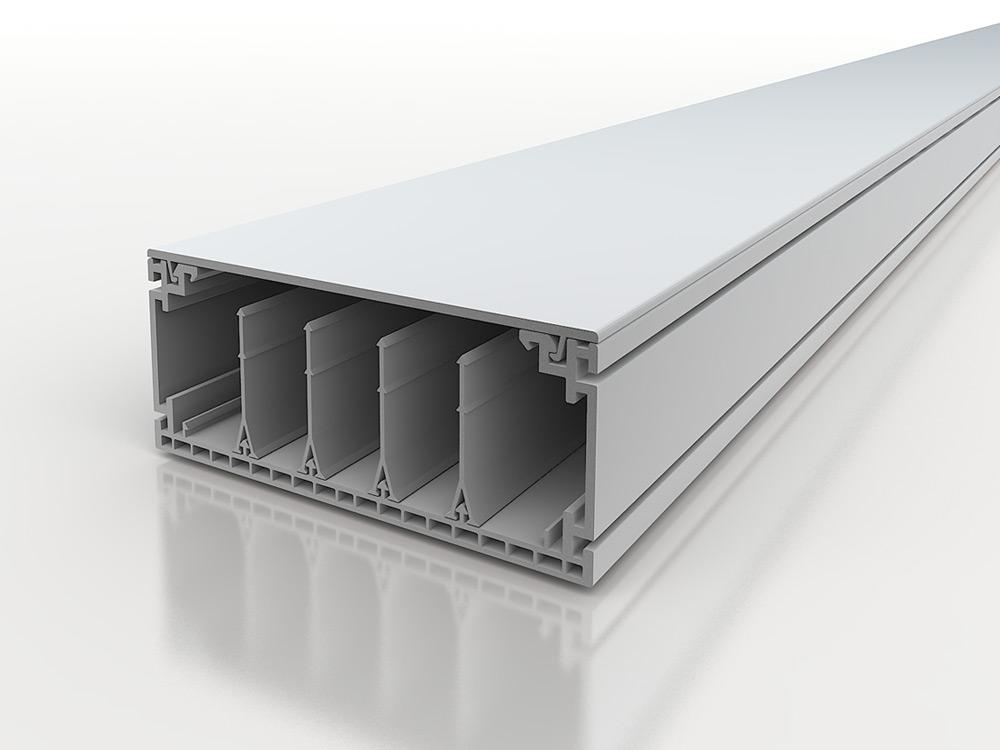 Canali per impianti modulari a sezione rinforzata